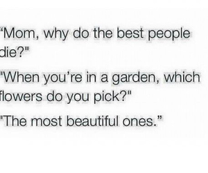 beautiful, flowers, and quote image