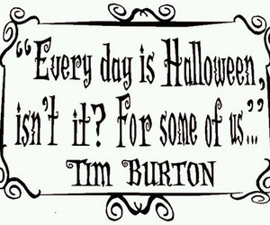 tim burton, Halloween, and quote image
