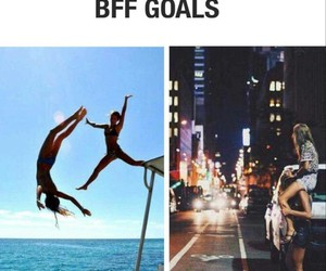bff, goals, and friends image