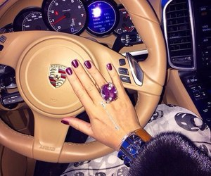 luxury, nails, and porsche image