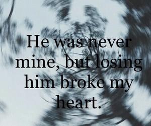 sad, broken, and mine image