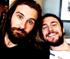 vikings, george blagden, and clive standen image