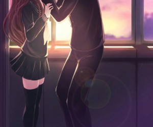 anime, kiss, and toradora image