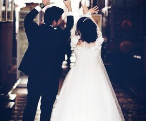 beautiful and wedding image