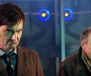 david tennant, doctor who, and the day of the doctor image