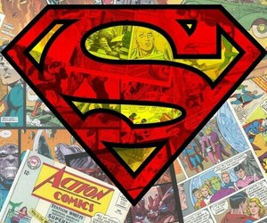 superman, comic, and wallpaper image