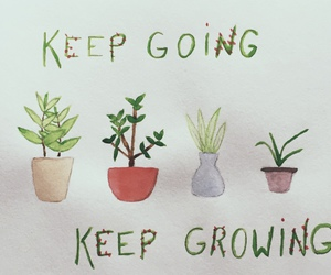 keep, plant, and quote image