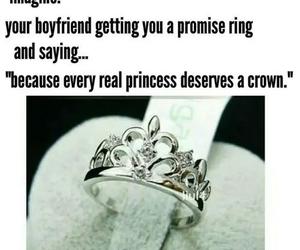 princess, ring, and cute image