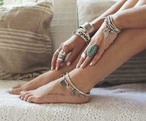 beauty, bohemian, and hippie image