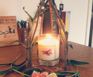 beautiful, boho, and candle image