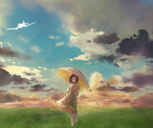 girl and the wind rises image