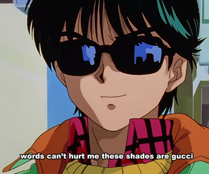 anime, gucci, and quotes image