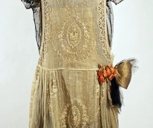 1920s, dress, and flapper image
