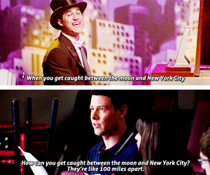 funny, glee, and quotes image