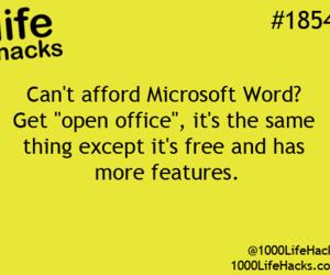 microsoft, life hacks, and microsoft word image