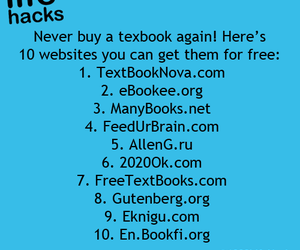 free, textbook, and websites image