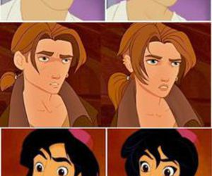disney, prince, and princess image