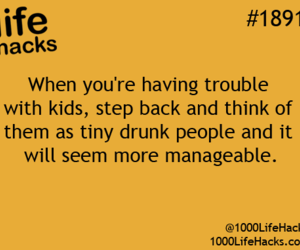 drunk, kids, and people image