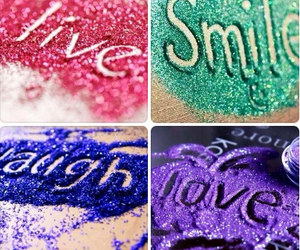 glitter, laugh, and live image