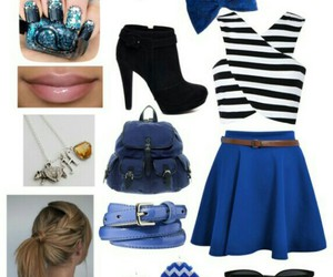 blue, fashion, and harry potter image
