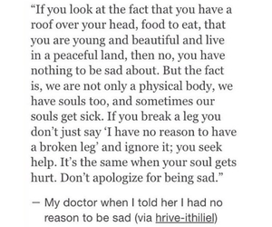 sad, soul, and quotes image