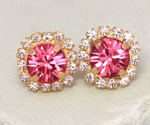 bling, bridal, and earrings image