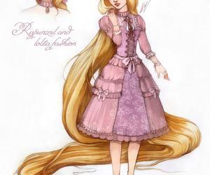 disney, lolita, and rapunzel image