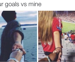 couples, soccer, and relationship goals image