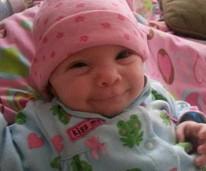 baby, smiles, and laugh image