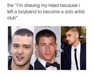 funny, zayn malik, and nick jonas image