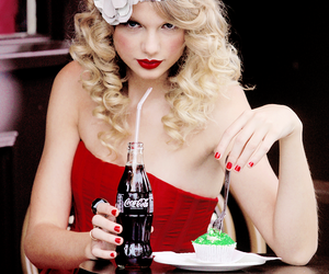 Taylor Swift, red, and hair image