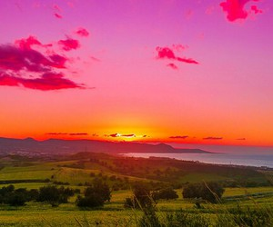 colorful, destination, and sunset image
