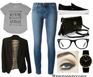 fashion, jeans, and school image