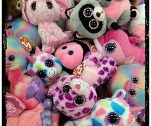 toys, pink, and unicorn image