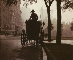 vintage, carriage, and old image