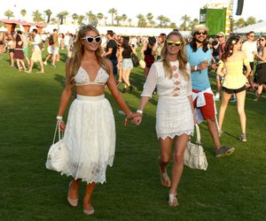 coachella, paris hilton, and fashion image