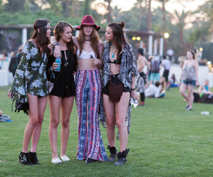 coachella, fashion, and outfits image