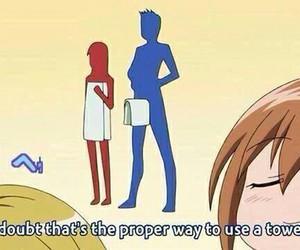 anime and funny image