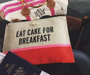 breakfast, cake, and eat image
