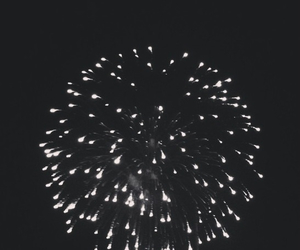 fire, firework, and light image