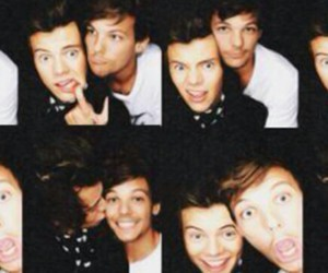 louis, selfies, and larry image