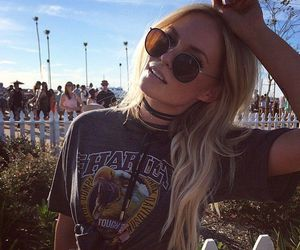 girl, fashion, and coachella image