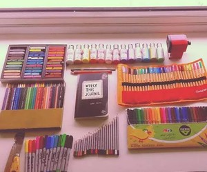 school, school supplies, and study image