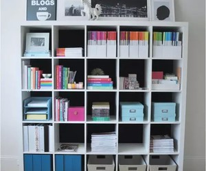 organize, room, and school image