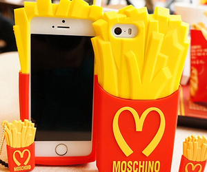 iphone, Moschino, and case image