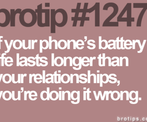 text, commitment, and brotip image