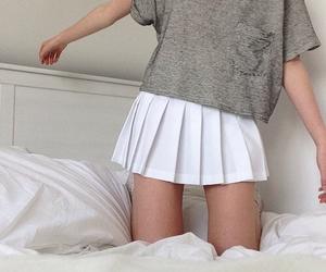 grunge, white, and skirt image
