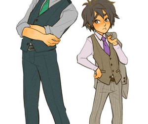 hiro, suits, and tadashi image