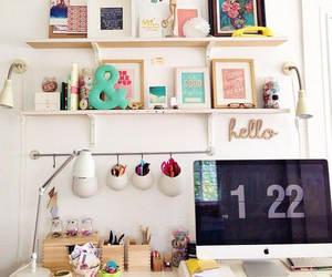 diy, inspiration, and workspace image