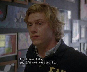 evan peters, american horror story, and coven image